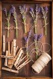 Aromatyczny i przyjemny lawendowy przygotowanie dla domowej osuszki obrazy royalty free
