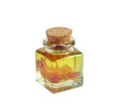 Aromatyczny lub wypachniony olej odosobniony fotografia stock