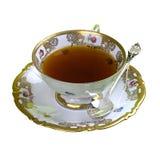 aromatyczny odosobniony herbaciany teacup Zdjęcia Royalty Free