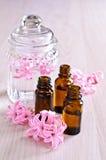 Aromatyczny olej dla zdroju zdjęcie stock