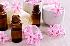 Aromatyczny olej dla zdroju zdjęcie royalty free