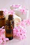 Aromatyczny olej dla zdroju fotografia royalty free