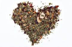 Aromatyczny serce Obraz Stock