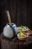 Aromatyczny yerba szturman z bombilla i kalabasą obrazy stock