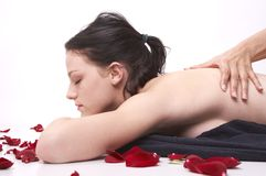 arommassage Fotografering för Bildbyråer