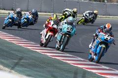 Aron Canet Moto3 Κατώτερη Estrella Γαλικία ομάδα Στοκ φωτογραφία με δικαίωμα ελεύθερης χρήσης