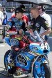 Aron Canet. Moto3. Junior Estrella Galicia Team. Royalty Free Stock Photos