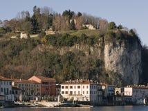 Arona, lake maggiore, italy Stock Image