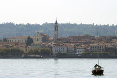 Arona Lake Maggiore Stock Photo