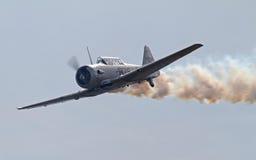 Aéronefs de Texan de la deuxième guerre mondiale T-6 Photos libres de droits