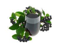 Aronia juice Royalty Free Stock Photo