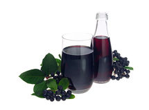 Aronia juice Stock Photo