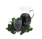 Aronia juice Stock Photos