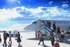 Aéroport de fût Photos libres de droits