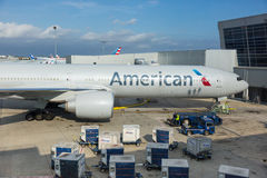 Aéroport de JFK Image libre de droits