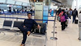 Aéroport de Perth Image libre de droits