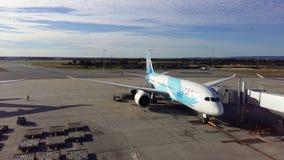 Aéroport de Perth Photos stock