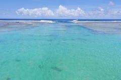 Arorangi passageRarotonga kock Islands Royaltyfri Foto