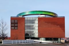 The ARoS Aarhus Kunstmuseum Royalty Free Stock Photography