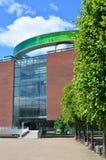 ARoS Art Museum con il suo panorama dell'arcobaleno, Aarhus, Danimarca Immagine Stock
