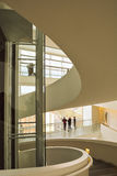 Aros art museum - interior spiral stairway Stock Photography