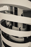ARoS muzeum sztuki, Aarhus, Dani - schodek spirala (2) Fotografia Royalty Free