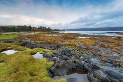 Aros op het Eiland van Mull stock foto