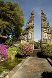 Around Bali Indonesia Series. This is how one of the ancient structure looked like.  In the ancient days, the landmark structure represents entrance to holy Stock Photography