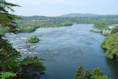 Around Bujagali Falls in Uganda Stock Image