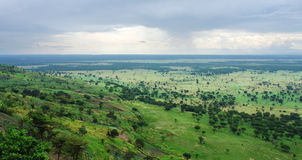 Around Bwindi Impenetrable Forest in Uganda Royalty Free Stock Images