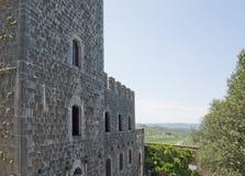 Around Castle of Brolio Royalty Free Stock Photo