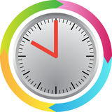 Around the clock Royalty Free Stock Image