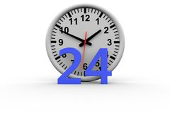 Around the clock Stock Images