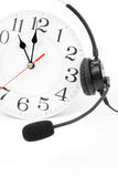 Around the clock support Royalty Free Stock Photos