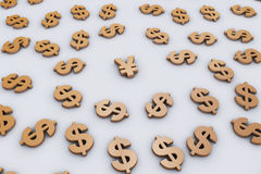 Around the currency Stock Images