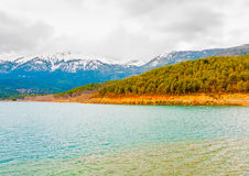 Around Doxa lake in Greece Stock Photos