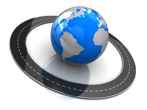 Around Earth Stock Image