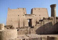 Around Edfu Temple of Horus Royalty Free Stock Image
