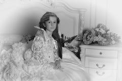 1887 around girl portrait shot taken vintage was young Στοκ εικόνα με δικαίωμα ελεύθερης χρήσης