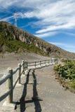 Irazu volcano crater Stock Photo