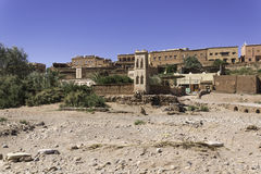 Around the kasbah ait ben haddou. In Morocco royalty free stock photography