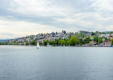 Around Lake Zurich Stock Photography
