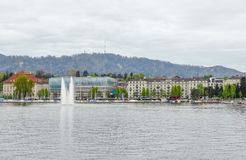 Around Lake Zurich Royalty Free Stock Photos