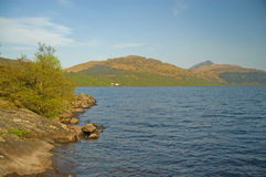 Around the loch Royalty Free Stock Photo