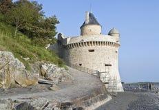 Around Mont Saint Michel Abbey royalty free stock photos