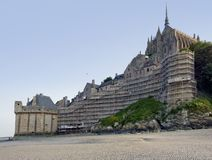 Around Mont Saint Michel Abbey Stock Photography