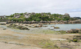 Around Perros-Guirec Royalty Free Stock Photo