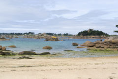 Around Perros-Guirec Stock Images