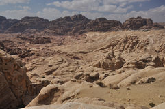 Around the Petra, Jordan. Around the archeoligical site Petra is so much fantastic and breath-taking view, just go hiking there Stock Image