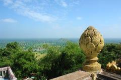 Around Phnom Sampeou Royalty Free Stock Photos